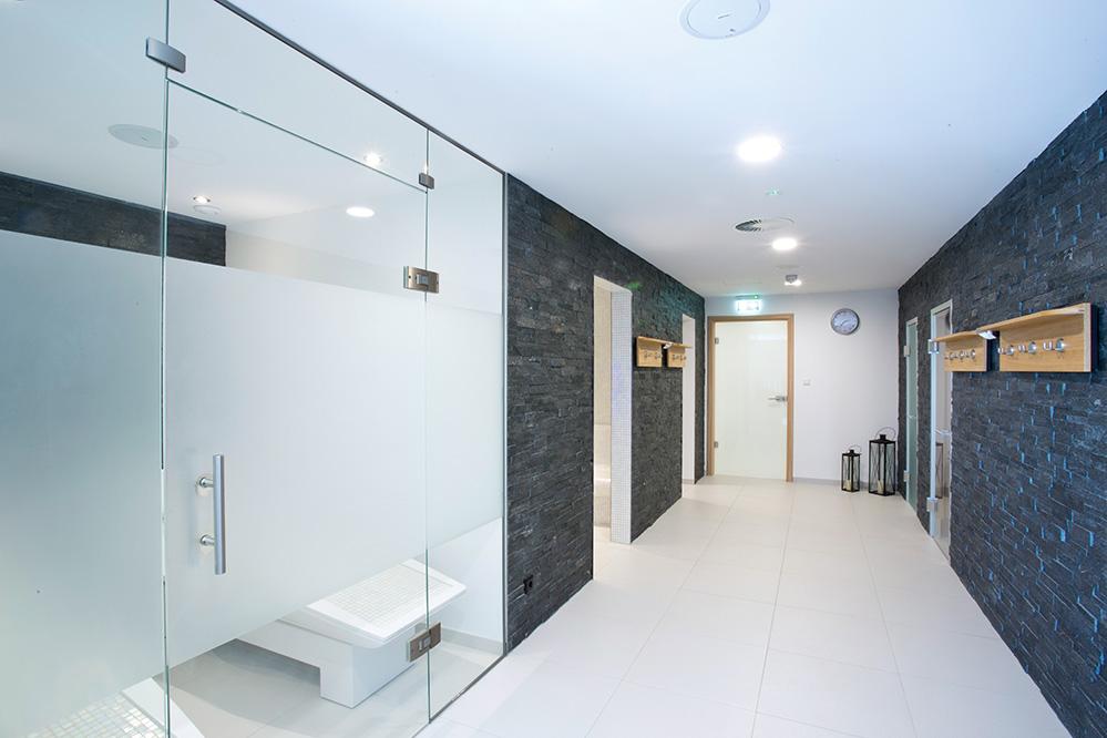 Heiners Parkhotel Badezimmer