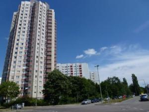 Wohnungsbau Leistungsportfolio Wohnblock